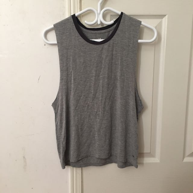 Grey Muscle Top