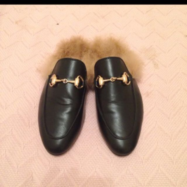 Gucci Princetown Loafer Slippers