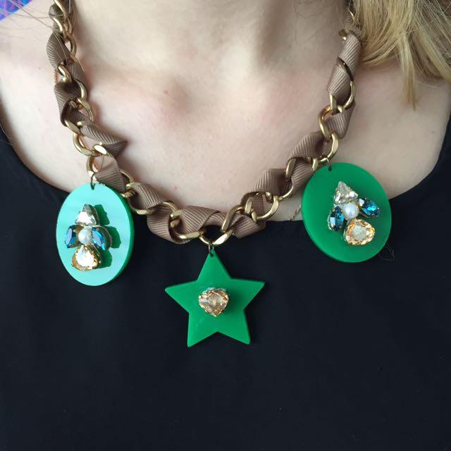 Handmade summer necklace