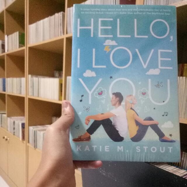 (REPRICE) Novel Hello I Love You By Katie M.Stout