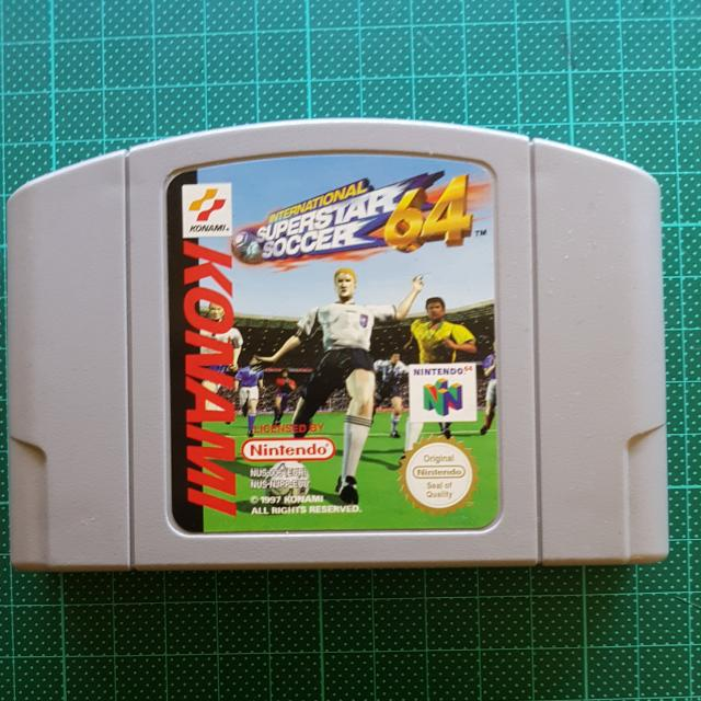 International Superstar Soccer 64 for Nintendo 64