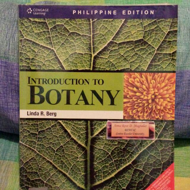 introduction to botany textbooks on carousell