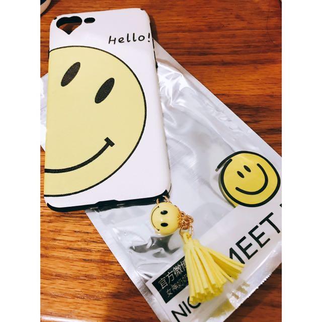 iphone7 微笑手機殼5.5寸軟殼全包