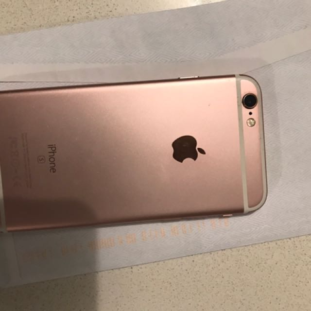 iPhone 6s - Rose gold