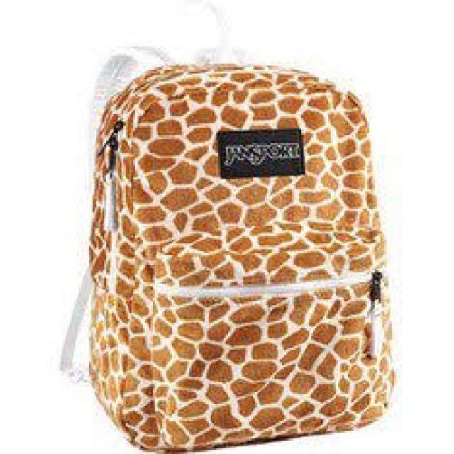 Jansport Reversible Giraffe Backpack
