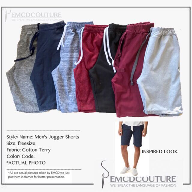 Jogger shorts for Him
