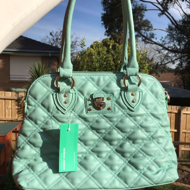 Kate hill Bag New With Tag Mint Green Colour