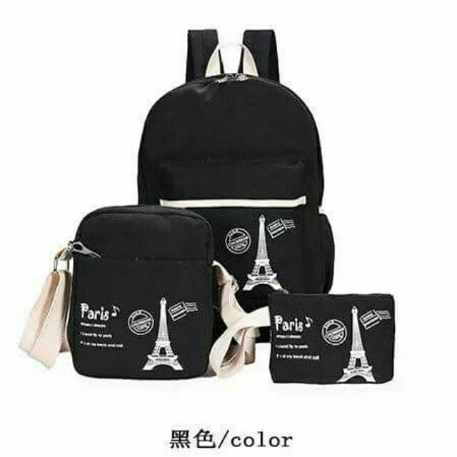 Kawaii Paris 3-1 Bag