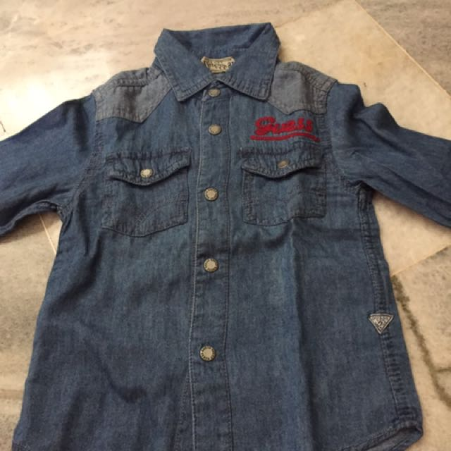 Kemeja Jeans Baby 18 Months