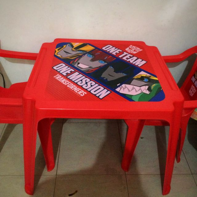 Kids Set Chair And Table