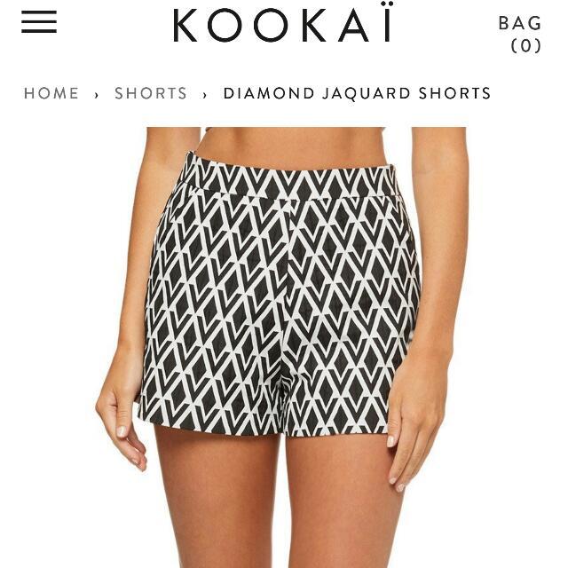 Kookai This Season Shorts