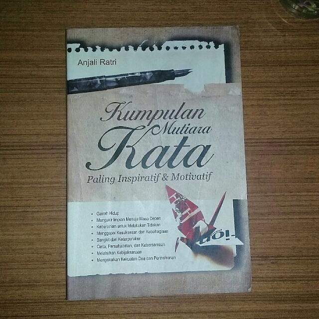 Kumpulan Kata Mutiara Books Stationery Books On Carousell