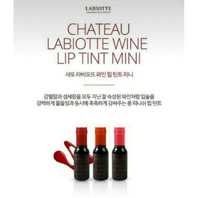 Labiotte Chateau Wine Liptint (mini size)