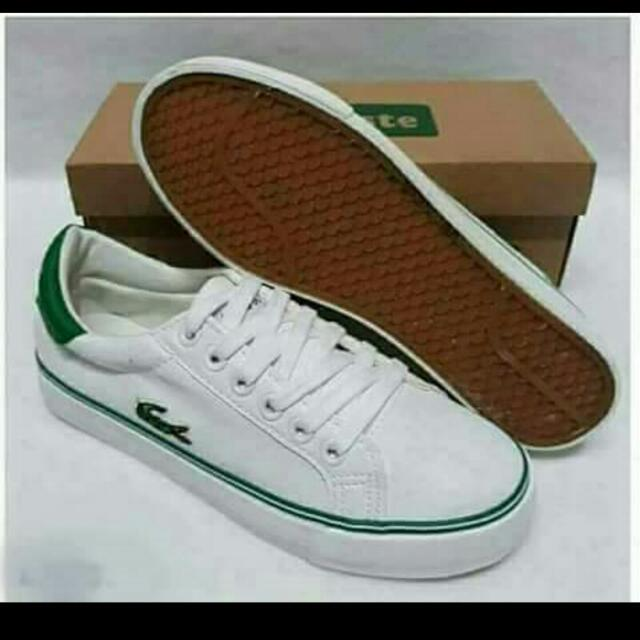 4c43c4601 LACOSTE REPLICA SHOES ORIGINAL USED MATERIALS on Carousell
