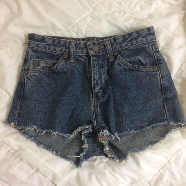 Lee牛仔短褲