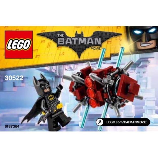 NEW Lego The Batman Movie Batman in the Phantom Zone 30522