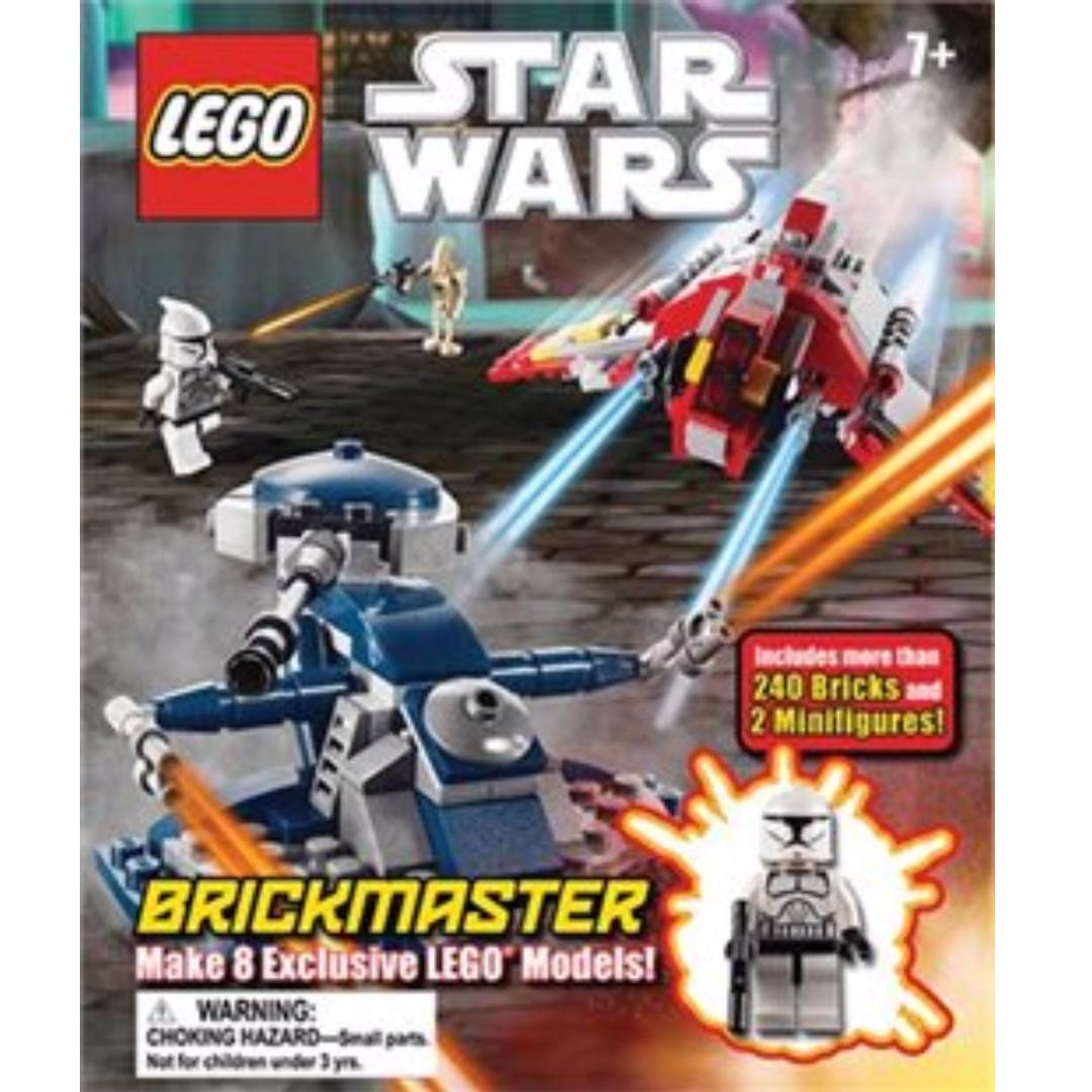Lego Star Wars Brickmaster Toys Games Bricks Figurines On 7665 Republic Cruiser Carousell