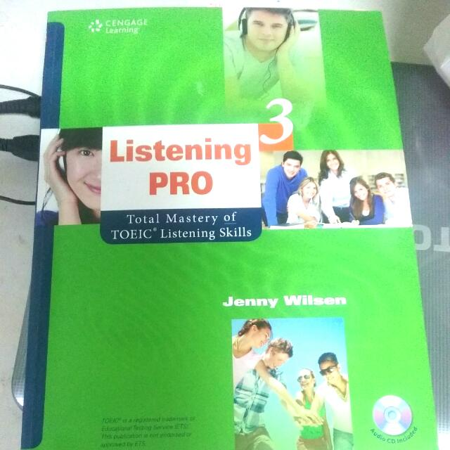 【聽力練習】【情境英語】【多益必備】【北商用書】【Listening Pro 3: Total Mastery of TOEIC Listening Skills】【附贈MP3 光碟】【Cengage Learning出版】