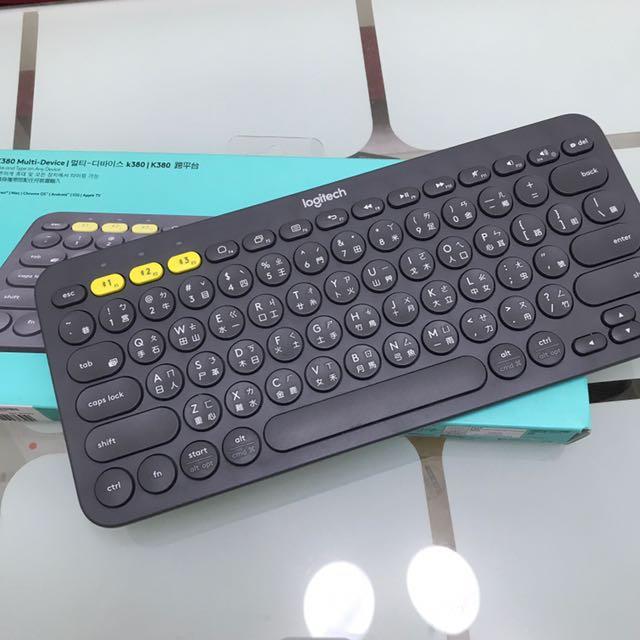 Logitech 羅技 K380 藍牙鍵盤