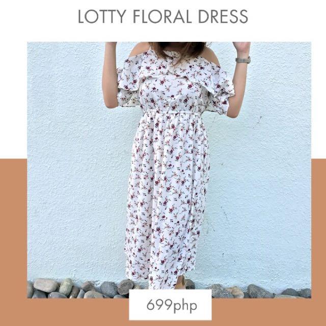 Lotty Floral Dress