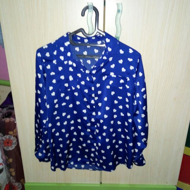 Love Blue Shirt