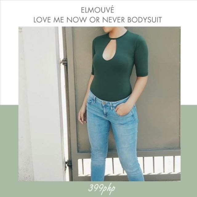 Love Me Now Or Never Bodysuit