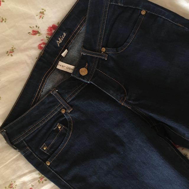 MANGO Alice Skinny Jeans