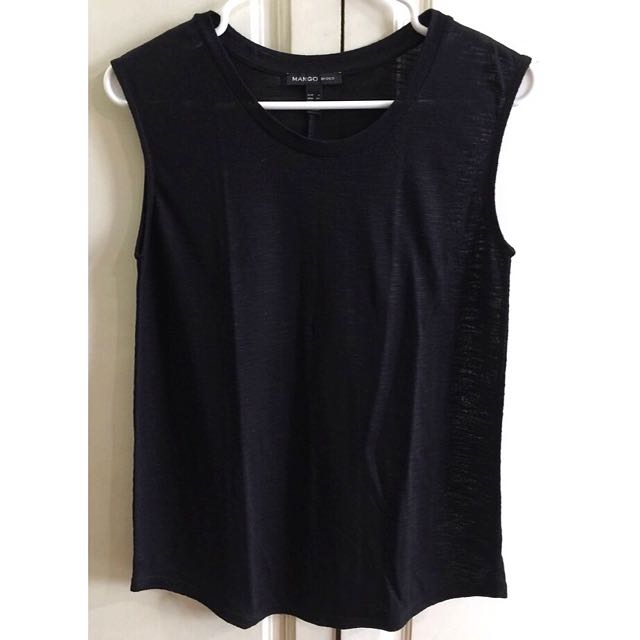 MANGO Tank Top (Black)