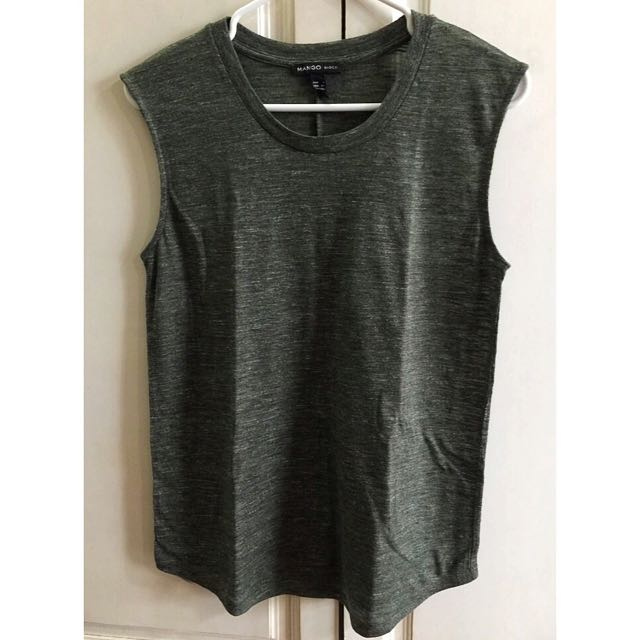 MANGO Tank Top (Army Green)