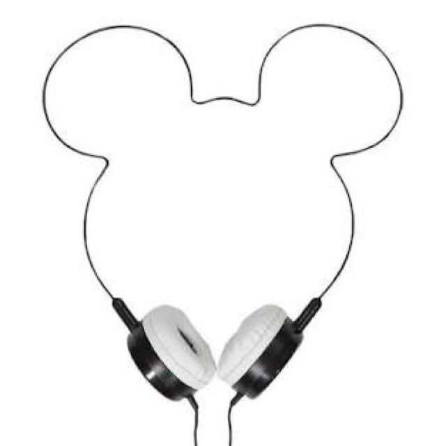 Mickey Mouse Headphones