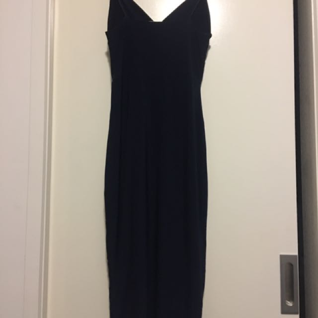 Misguided Navy Dress Fit Size 8