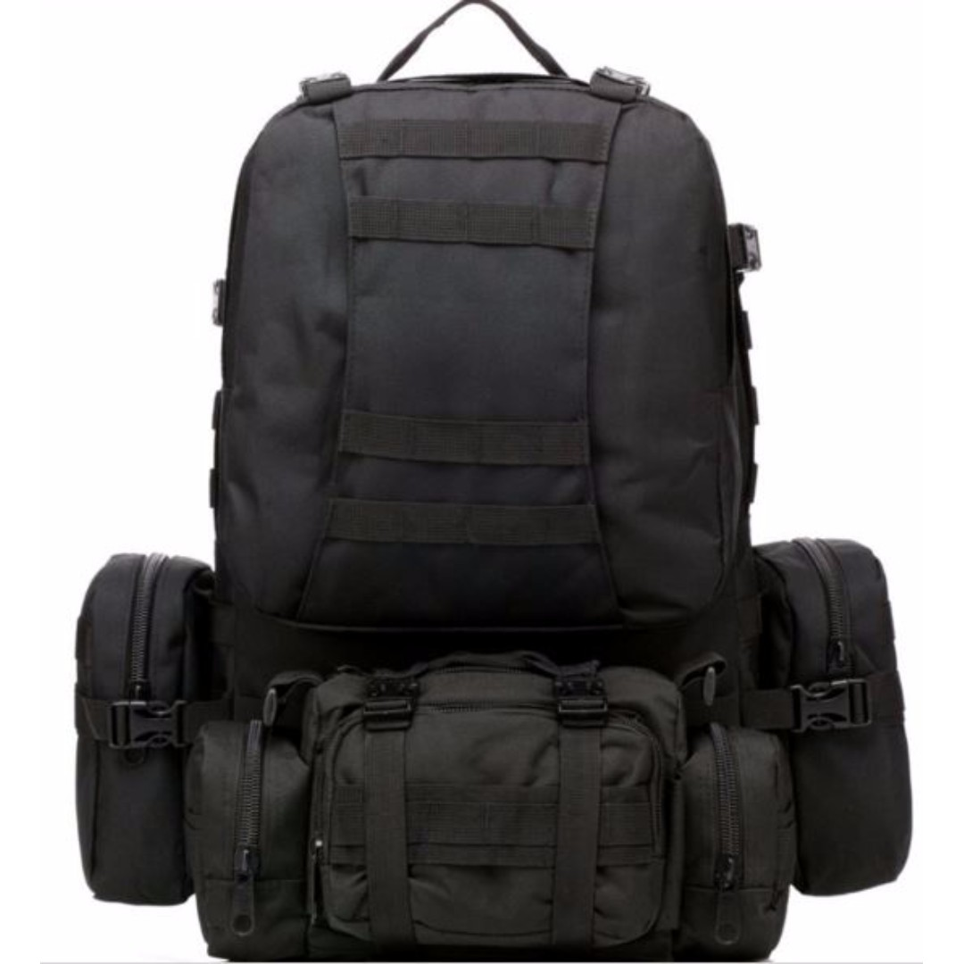db5ee1e624c1 Molle Tactical Outdoor military backpack camping trekking bag