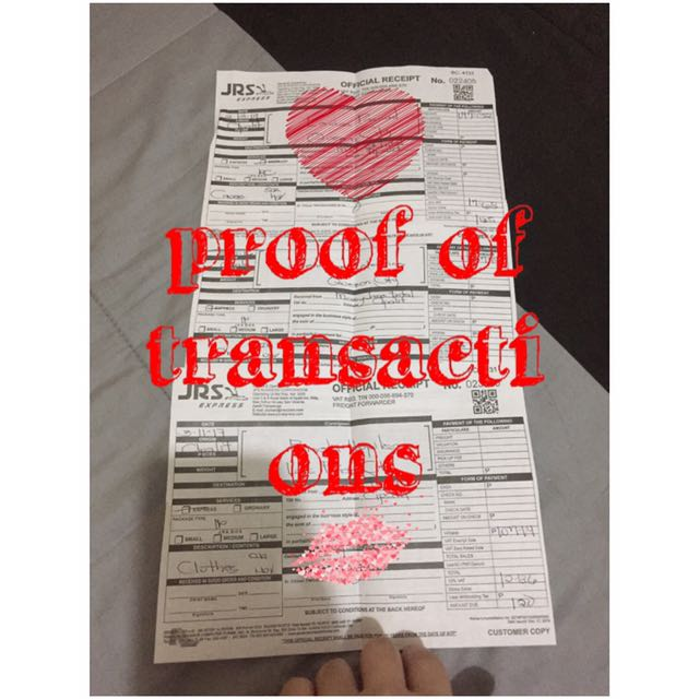 My proof of transactions ❤️❤️🙏😘
