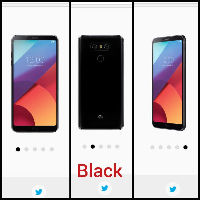 LG G6 + Quick Cover (NEW SEALED)  BLACK COLOUR (64GB ROM 4GB RAM) 2 YEAR WARRANTY $750+FREE DELIVERY