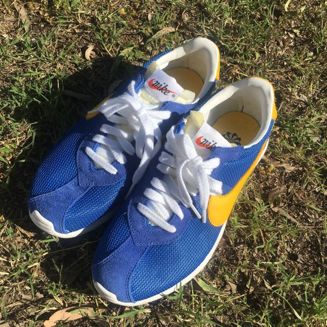Nike Roshe LD-1000 Blue And yellow