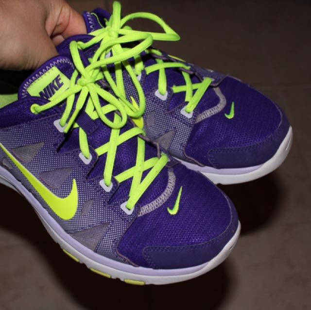 Nike Sneakers Purple & Green