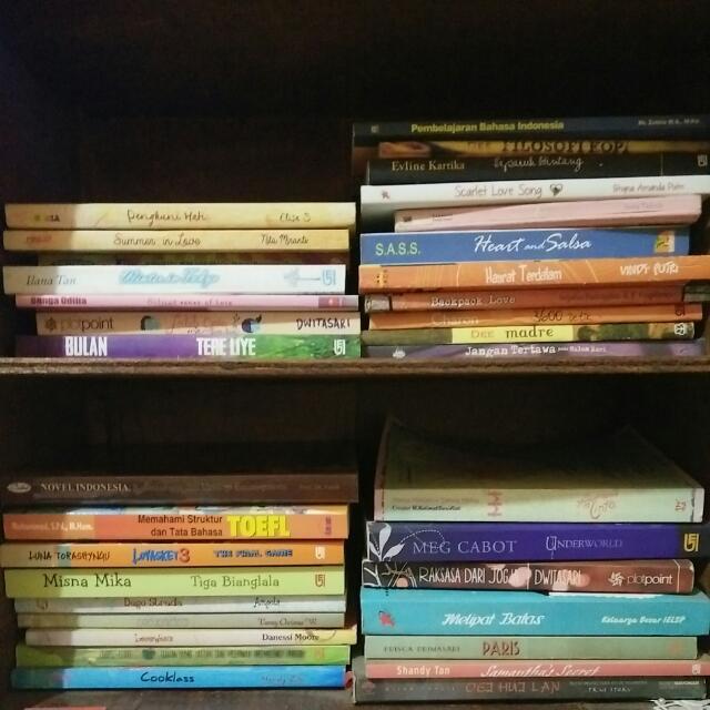 Novel Dan Buku Seadanya 😁