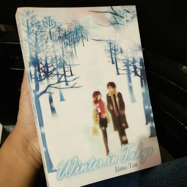 Novel Winter In Tokyo Masih Mulus