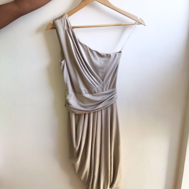 Nude Grecian Dress