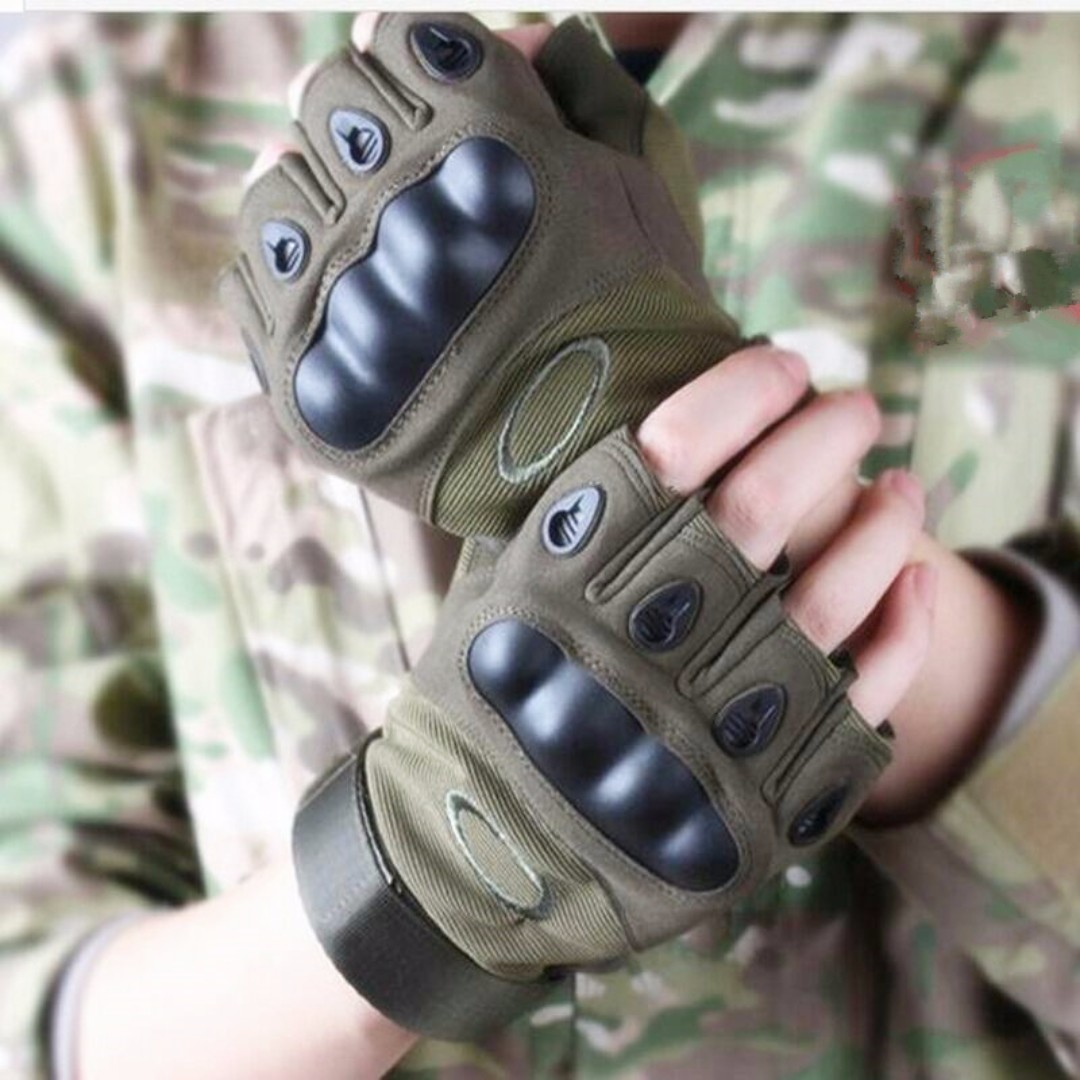 Oakley Tactical gloves with Kevlar Hard Knuckle Original Duty Gear