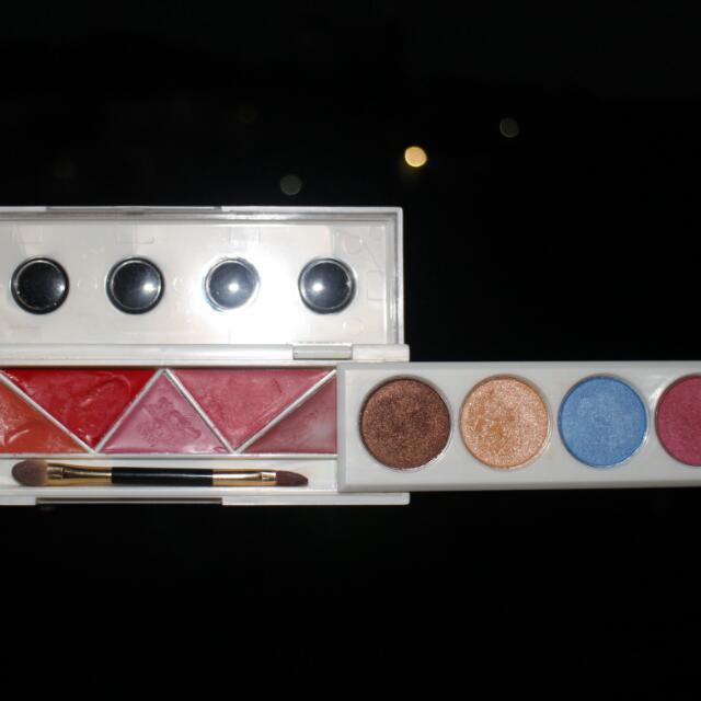 Original Sariayu Martha Tilaar Lip Eye Kit - Ori Sariayu Martha Tilaar Lip Eye Pallete Eyeshadow Lip Cream