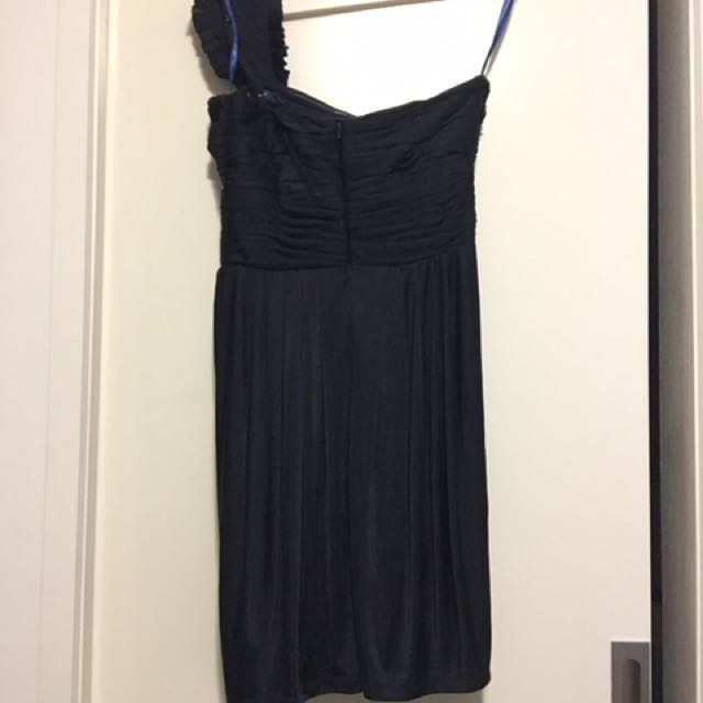 Out With Evie Size 10 Navy Dress
