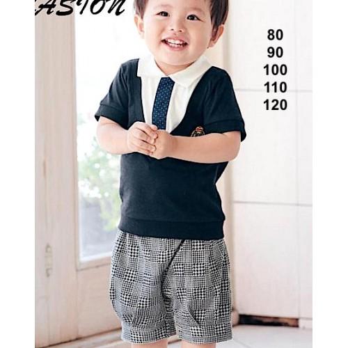 perlengkapan bayi impor  belle maison navy sc-15640
