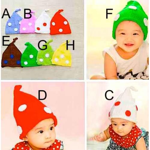 Perlengkapan bayi impor  topi kurcaci sc-15496
