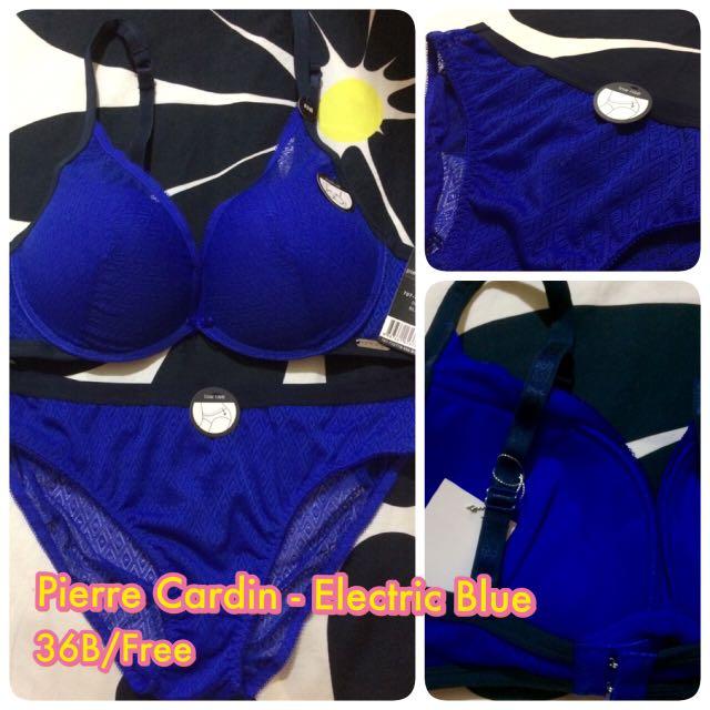 e4e14bc888 Pierre Cardin Bra Set - Electric Blue