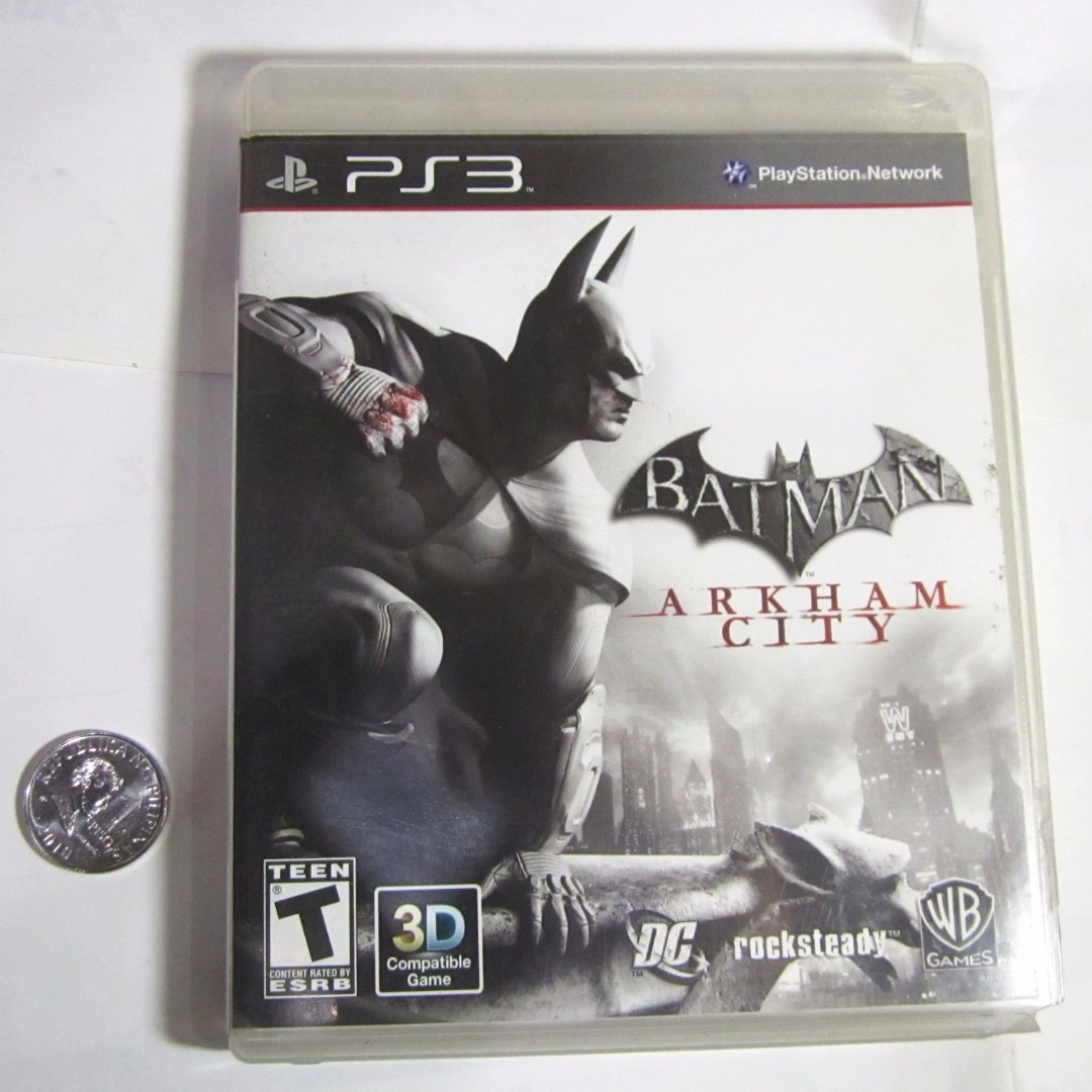 Playstation 3 Game  Batman Arkham City - Original