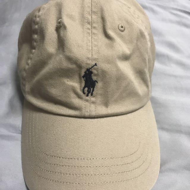 8324c302dae Polo Ralph Lauren Logo Baseball Cap - Beige