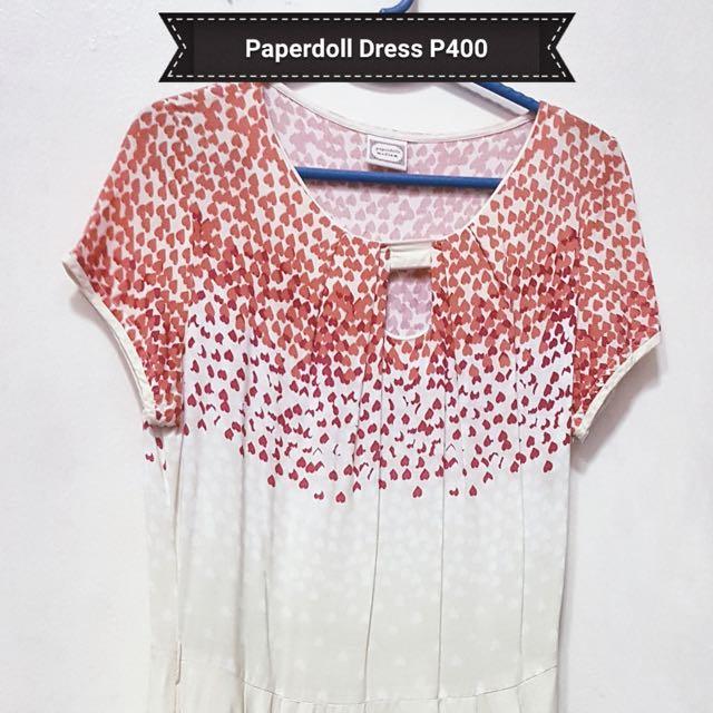 Pre-loved Paperdoll Dress