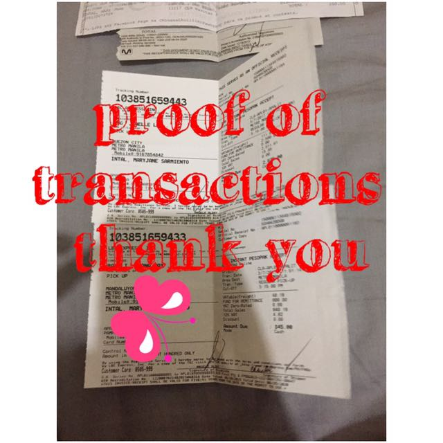 proof of transactions