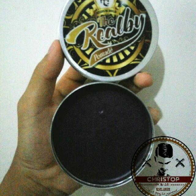 Realby Pomade (Wangi Bubble Mints)